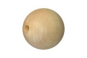 Medinis karoliukas 2 cm. 1124
