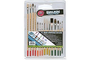 Brushes pack 15 pcs. RART-15