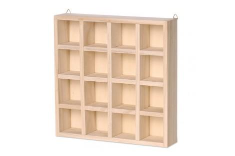 Dėžutė pakabinama su skyreliais, 22 x 22 x 4,5 cm., 8735726