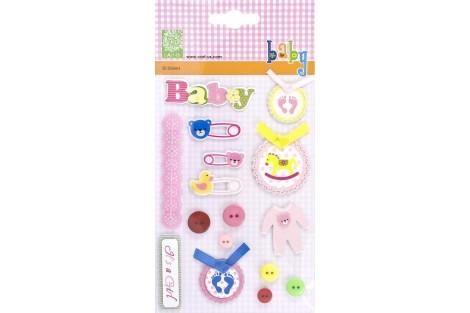3D deko - stickers F13108