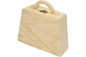 Dėžutė lagaminėlis, 18x18x5 cm.