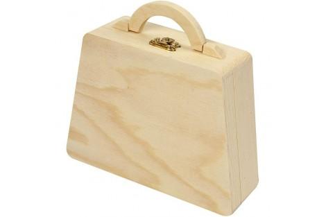 Dėžutė lagaminėlis, 18x18x5 cm. CR57583