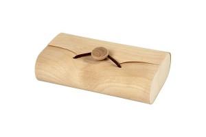 Medinė dėžutė pinigams 13x8x3,5 cm., CR57797