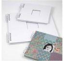 Albumas, baltas, su spirale, 20x20 cm., 1 vnt., CR20445