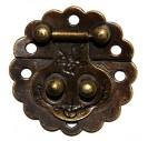 Spynelė, 5x4 cm.,  antikinis auksas, CR58004