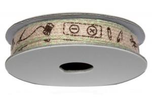 Juostelė, dekoratyvinė, ritinys, 10 mm x 1,8 m., CR41054