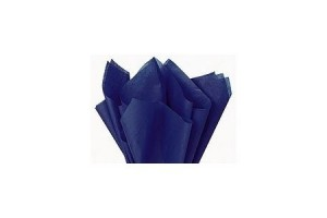 Tissue paper, dark blue, 50x70 cm.,13 pcs.,  F91534