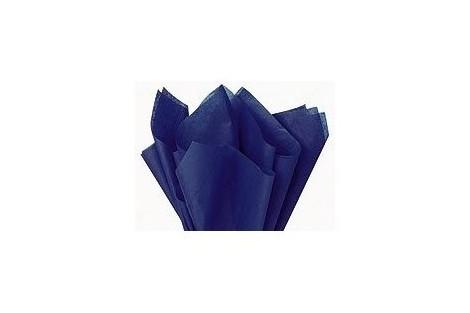 Tissue šilko popierius,  50x70 cm., 13 vnt., tamsiai mėlyna spalva, F91534