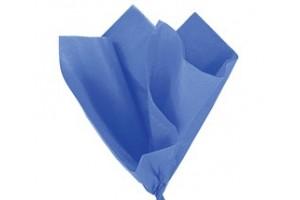 Tissue šilko popierius,  50x70 cm., 13 vnt.,  mėlyna spalva, F91530