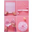 Tissue šilko popierius,  50x70 cm., 13 vnt.,  šviesiai rožinė spalva, F91522