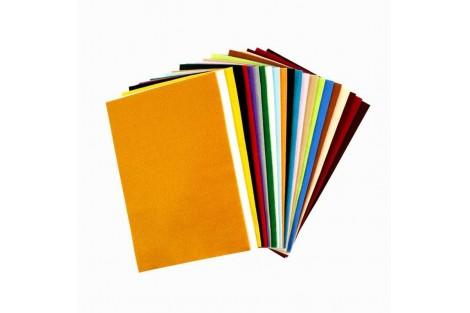 Filco 20x30 cm.rinkinys - spalvų asorti 24 vnt. storis: 1,5 mm.,  CR45297
