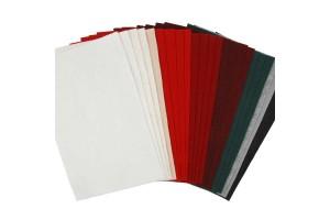 Filco 20x30 cm.rinkinys - spalvų asorti 24 vnt. storis: 1,5 mm.,  CR45296