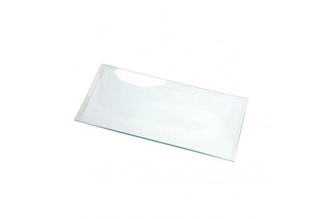 Stiklinė lėkštė, 27x13 cm., CR55963