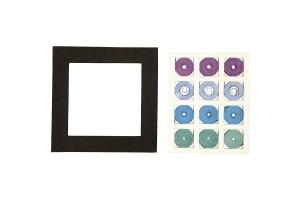 Kvilingo juostelių rinkinys,10x10 cm, storis 5 mm., CR11740