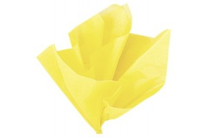 Tissue paper, maize yellow, 50x70 cm.,13 pcs., F915ąū