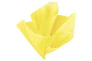 Tissue šilko popierius,  50x70 cm., 13 vnt., geltona kaušinio, F91512