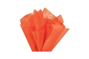 Tissue paper, orange, 50x70 cm.,13 pcs.,F91540
