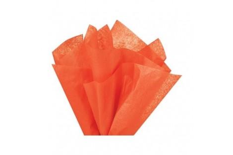 Tissue šilko popierius,  50x70 cm., 13 vnt., oranžinė, F91540