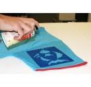 Purškiami tekstilės dažai, sidabriniai, 150 ml., 319945
