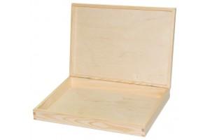 Medinė dėžutė dokumentams 1651