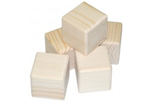 Wooden block 1 pcs. 1652