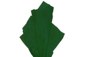 Tissue paper,  50x70 cm.,13 pcs., dark green,  F91552