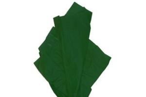 Tissue šilko popierius,  50x70 cm., 13 vnt., tamsiai žalias, F91552