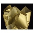 Tissue šilko popierius,  50x70 cm., 13 vnt., auksinis, F91565