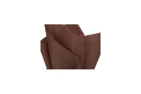 Tissue šilko popierius,  50x70 cm., 13 vnt., rudas, F91570