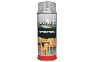 Spray varnish, gloss, 400 ml.,  918571