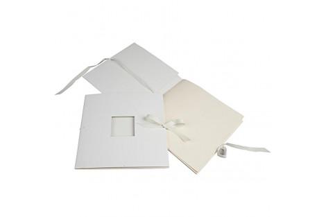 Kartoninė knygutė - albumas, su juostele, 20x20 cm., CR265591