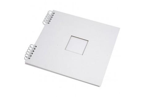 Albumas, baltas, su lapais, 30,5x30,5 cm., 1 vnt., CR20447