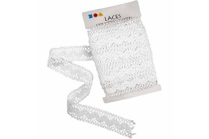 White lace 30 mmx1 m CR41093