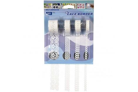 Dekoratyvinių lipnių juostelių rinkinys,8-23 mm., 4x2 m., CR28024