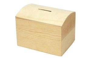 Money box 10x8x7 cm CR57579
