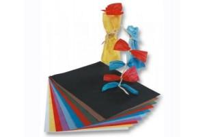 Tissue šilko popierius,  50x70 cm., 13 vnt., spalvų asorti, F90009