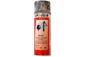 Purškiami dažai, marmuro efektas, juodas, 200 ml.