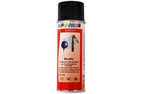 Purškiami dažai, marmuro efektas juodas su auksu, 200 ml.