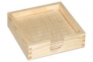 Dėžutė didelė su padekliukais 1699