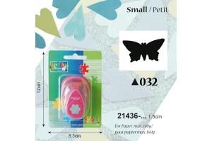 Dekoratyvinis skylamušis, drugelis,  1,5 cm., V21436-032