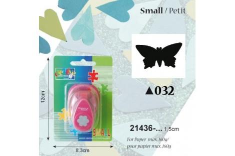 Dekoratyvinis skylamušis, drugelis,  1,5 cm., V21435-032