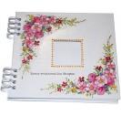 Albumas, baltas, su lapais, 20x20 cm., 1 vnt., CR20445