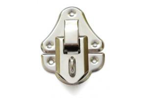 Small lock nickel-plated 1711