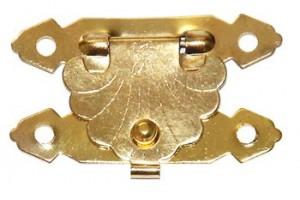 Spynelė auksinė 3,8x2,4 cm. 1714