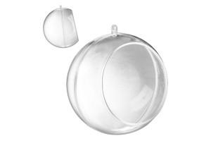 Plastikinis burbulas su skyle 12 cm.
