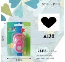 Dekoratyvinis skylamušis, širdis,  1,5 cm., V21436-120