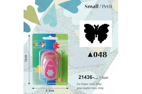 Dekoratyvinis skylamušis, drugelis,  1,5 cm., V21436-048