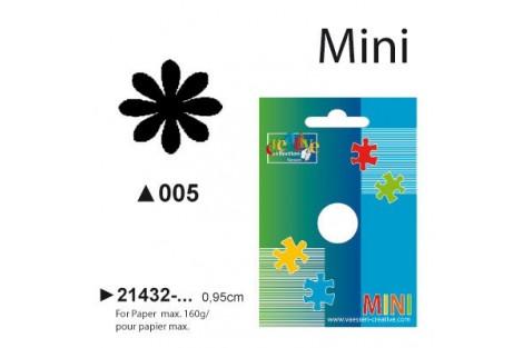 Dekoratyvinis skylamušis, gėlytė , 0,95 cm.,  V21432-005