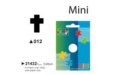 Dekoratyvinis skylamušis, kryželis, 0,95 cm.,  V21432-012