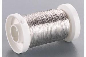 Viela, sidabrinės spalvos,  0.40 mm - 40 m, 6468713
